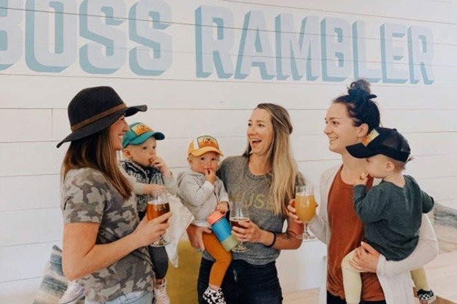 Beers and babies—what's not to love? - KATE S FLEMING