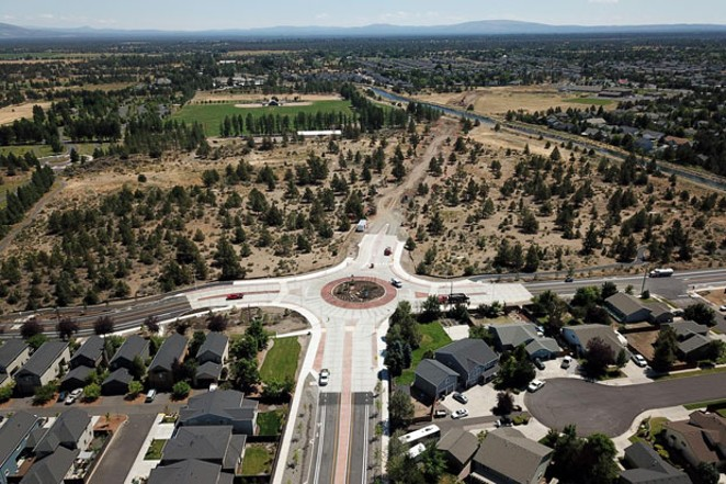 The Empire Avenue Improvements project is an example of a current city project that improves safety, multi-modal options, access and connectivity - COURTESY CITY OF BEND