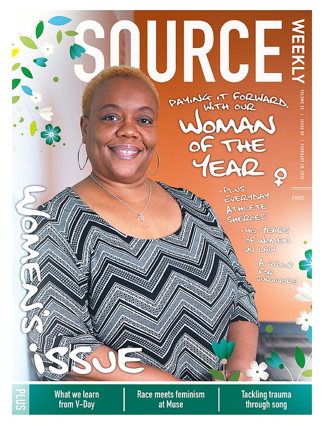 The Source Weekly's Woman of the Year in 2019 was OSU professor Erika McCalpine, who will also serve as a judge in the Chamber awards this year. - PHOTO BY KEELY DAMARA