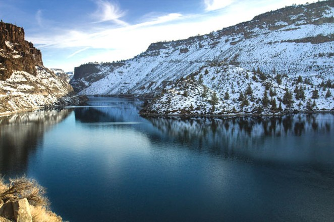 Free guided experiences on Jan. 1 include a kayak tour of Cove Palisades State Park, home to Lake Billy Chinook. - BONNIE MORELAND, FLICKR