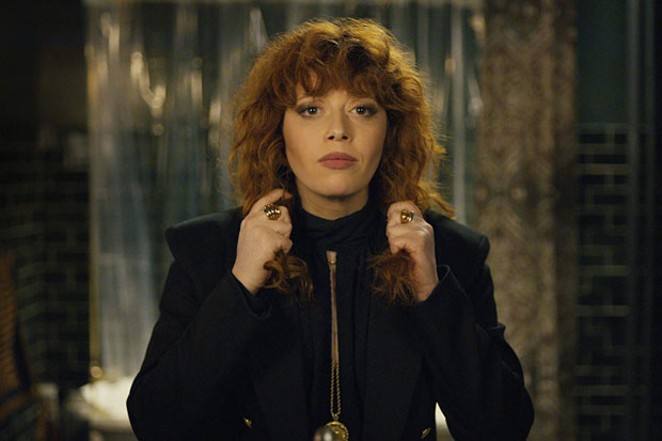 "National treasure Natasha Lyonne starred in this year's excellent ""Russian Doll."" - COURTESY OF HULU"