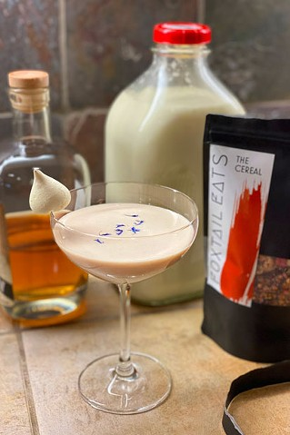 Got cereal milk? In your cocktail? Why not? - LISA SIPE