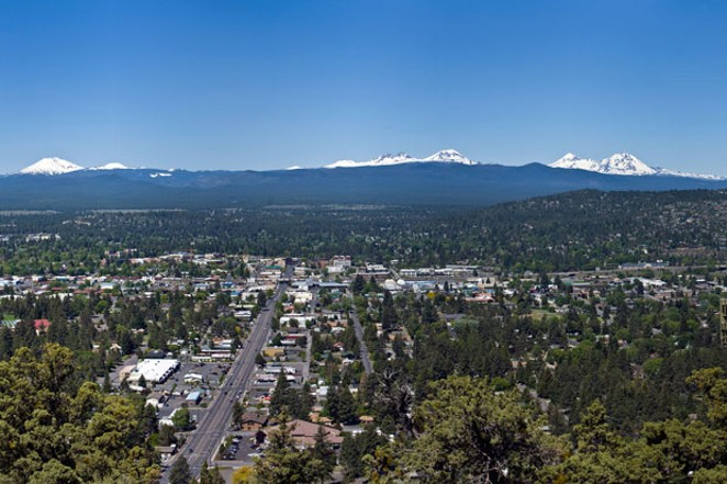 The MLS currently lists only 28 properties in Bend that would be considered affordable for a household with two full-time workers making an average yearly salary of $63,680 each. Rent for a professionally managed two-bedroom apartment in Bend averages $1,735 a month, according to the U.S. Department of Housing and Urban Development. - WIKIMEDIA COMMONS, CACOPHONY