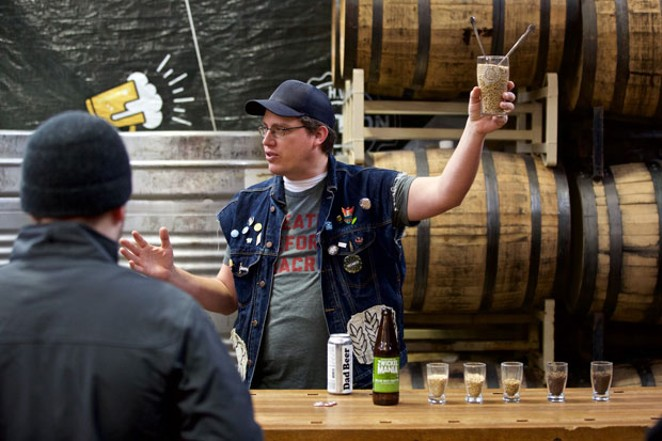It's that time again, to get your zwickel on. Here, Stephen Helwig at Baerlic Brewing Co talks beer. - CRAIG MITCHELLDYER