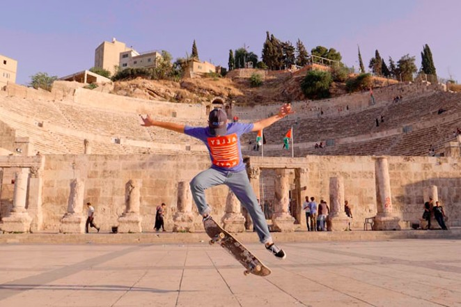 Youth skaters from different cultures and religions come together in Jordan. - PHOTO COURTESY JESSE LOCKE