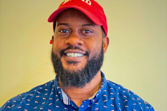 Bend local Johnny Alfredo hopes to bring awareness to African American contributions to Central Oregon society and culture. - DAMIEN BIANCHI