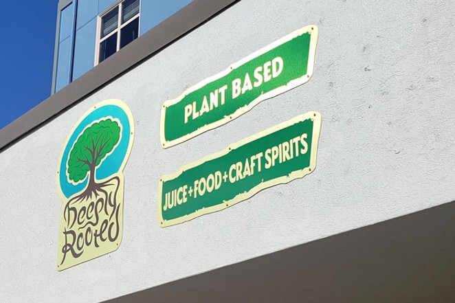 Deeply Rooted, a plant-based restaurant, is on track to open the first week of March. - CAYLA CLARK