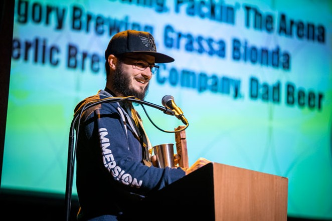 Immersion Brewing took home Best Small Brewery. - SAM GEHRKE PHOTOGRAPHY