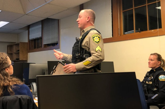 Sgt. William Bailey of the Deschutes County 