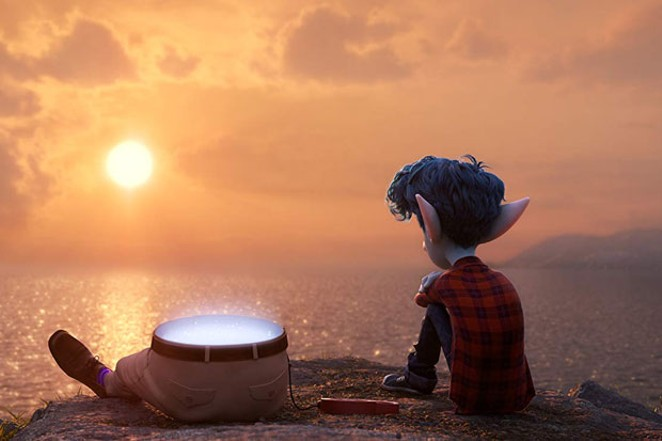 Just starin' at the sunset with my half-dad. No big deal. - COURTESY DISNEY/PIXAR