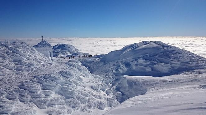 The summit of Mt. Bachelor. - BRIAN CRIPE, WIKIMEDIA