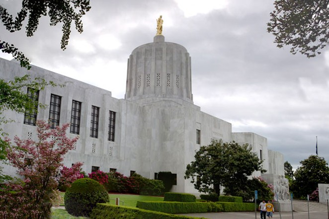 Twelve members of the Oregon State Legislature are meeting online to ramp up the State's efforts toward slowing the spread of the coronavirus. - WIKIMEDIA COMMONS