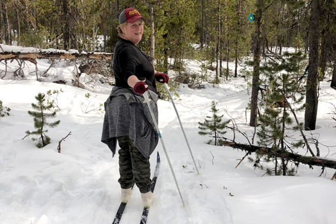 The Edison Sno-Park's non-motorized trails offer some less-crowded alternatives to Meissner and Swampy. - NICOLE VULCAN