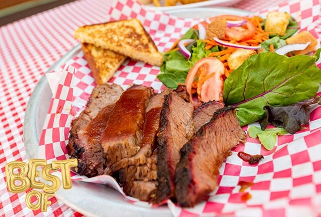Mmmm.... Baldy's Barbeque... featured in many a Best Of Central Oregon issue for Best BBQ. - DANIEL ROBBINS