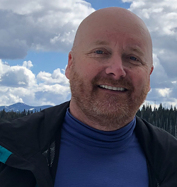 John Pieratt, 54, of Arizona got lost on his snowmobile near Bend Friday. A small army of volunteers, deputies and AirLink crews went out to find him. - DESCHUTES COUNTY SHERIFF'S OFFICE