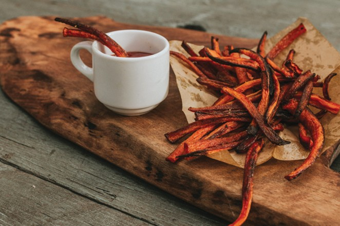 For something a little different, try roasting fresh carrots. - TAMBI LANE PHOTOGRAPHY