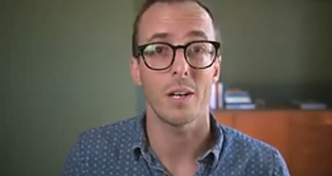 Gabriel Davis has worked remotely for three years for Strikepoint Media, a marketing company based in California. He was one of three presenters offering tips and tricks on how to stay sane and productive while working from home. - SCREENSHOT VIA BEND CHAMBER OF COMMERCE