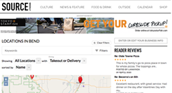 """Look for the """"Enter or Edit Your Business Info"""" box on our Takeout Guide, (see right hand side of this image as an example of what's on that page) to edit your takeout info in the """"2020 Takeout"""" section of your business listing on our site! - SOURCE"""