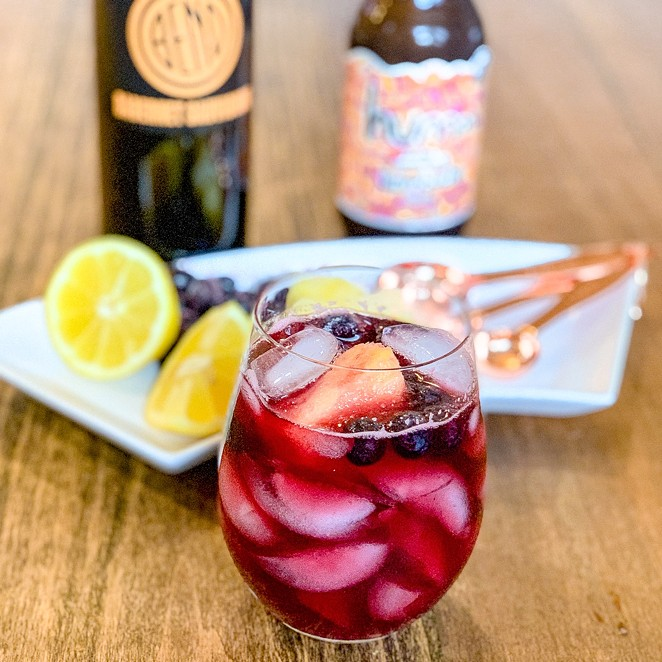 "A quick ""sangria"" for these lovely spring days. - NANCY PATTERSON"