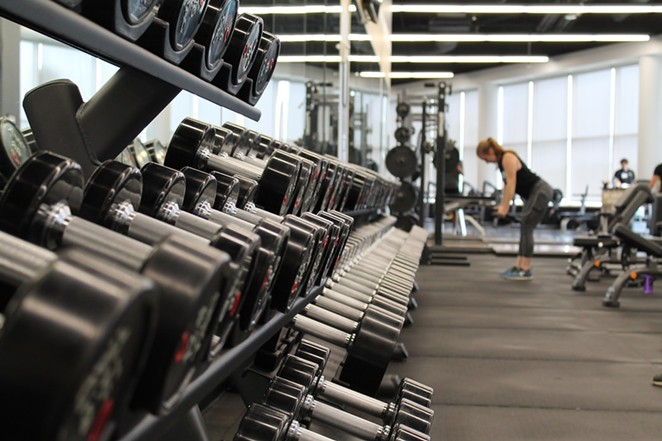 Some people have been going a crazy without some time spent in the gym, but it looks your favorite fitness center may be open soon. - UNSPLASH