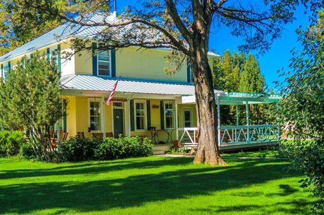 Long Hollow Ranch provides staycationers with a peaceful and private setting right outside of Sisters. - COURTESY OF LONG HOLLOW RANCH