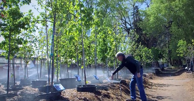 Gary English owns Landsystems Nursery in Bend and he's a water rights holder in the Central Oregon Irrigation District. He's one example of the many water users in COID that uses the water for a for-profit businesses. - GARY ENGLISH