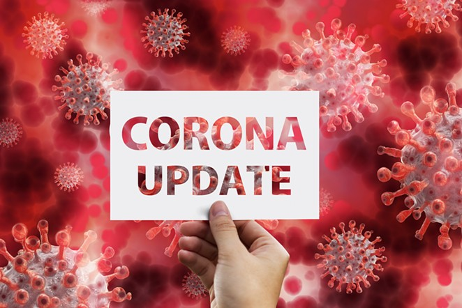 Central Oregon coronavirus update. - PIXABAY