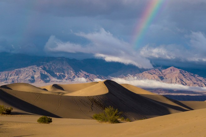 Sand dunes in Death Valley National Park, California. The Great American Outdoors Act grants over $6.5 billion to the National Park Service, about half of the $12 billion in overdue projects the agency has. - LUNA ANNA ARCHEY / HIGH COUNTRY NEWS