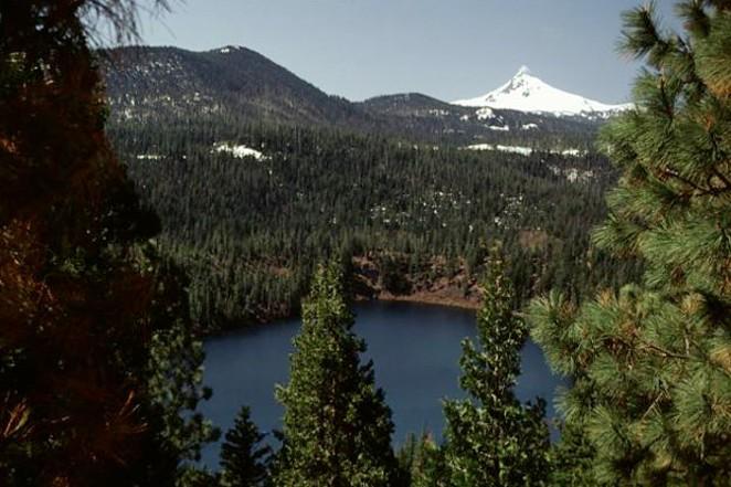 Getting to Blue Lake is well worth the 4 mile hike. - LEE SIEBERT / WIKIMEDIA