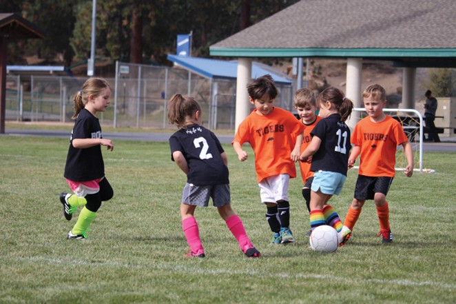 Get active and have fun! Kindergarten soccer league starts September 12 - SUBMITTED