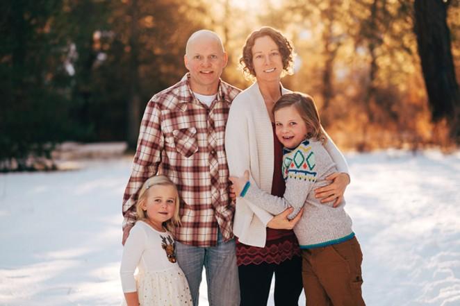 The O'Connor Family: Kaia, Cam, Shanti and Nolan - BRENDEN BUTLER