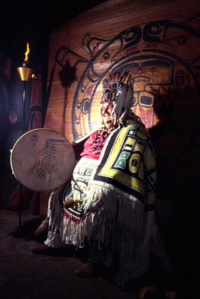 Chief Lalooska. - COURTESY JIM ANDERSON
