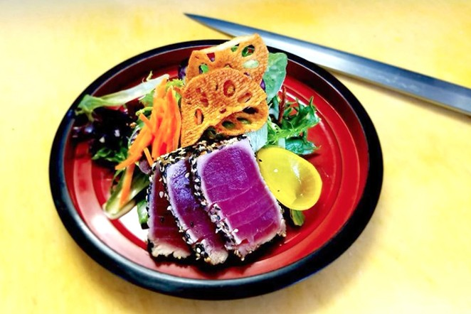 A plate beautiful as it is delicious, Bend Izakaya nails it. - COURTESY RONIN
