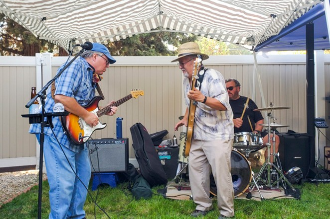Central Oregon union members gathered virtually on Monday for the Central Oregon Labor Chapter coalition's annual picnic. A few members attended in person to see a live performance of Thomas T 