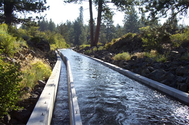 Arnold Irrigation District covers 4,384 acres southeast of Bend and serves 600 property owners. The Oregon Water Resources Department ordered it to stop drawing water in mid-August. It hasn't run out of water in 25 years. - ARNOLD IRRIGATION DISTRICT