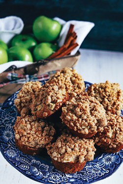 Little hands can't resist the flavors of apple, nutmeg and brown sugar. - NANCY PATTERSON