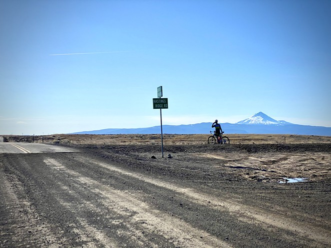 Higher elevation riding can also lead to some pretty great views. - LINDA ENGLISH