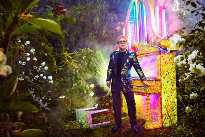 """Elton John's """"Jewel Box"""" contains a bevy of unreleased material. - DAVID LACHAPELLE"""