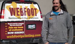 """Webfoot Painting is among the Bend area businesses sharing their story in the first episode of """"Stories of Resilience."""" - BEND CHAMBER/SCREENSHOT"""