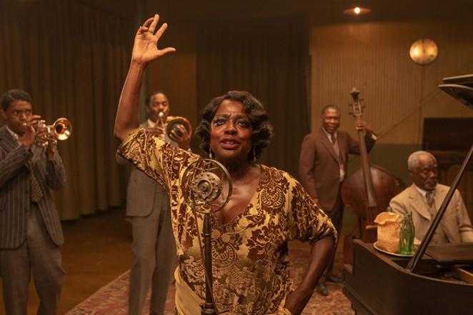 "Viola Davis and Chadwick Boseman are immortal in ""Ma Rainey's Black Bottom."" - COURTESY OF NETFLIX"