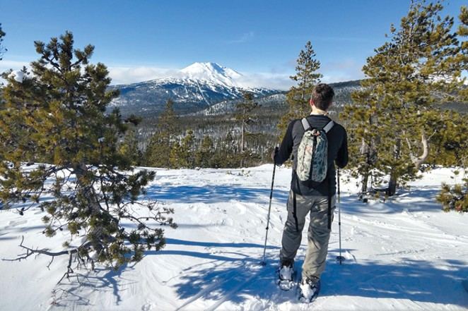 Vista Butte Sno-park offers great views of Mt. Bachelor, South Sister, Tumalo and Broken Top. - ASHLEY MORENO