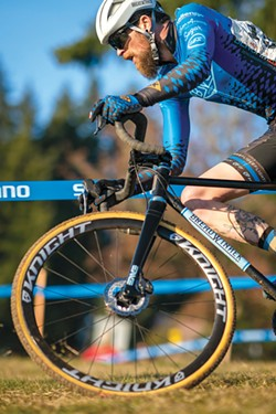 A combo of road, gravel and mountain biking—plus trail running, is one way to describe cyclocross. - DREW COLEMAN