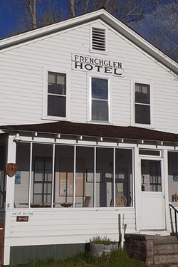 Historic Frenchglen Hotel welcomes ODT hikers. - DAMIAN FAGAN