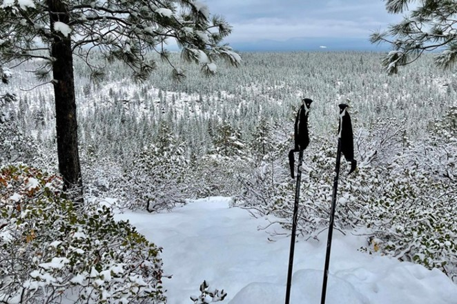 @oregonadventurerentals tagged us in this photo of a chill Sunday snowshoe out in Central Oregon's winter playground. Where will you tag us from next? Tag @sourceweekly for a chance to be featured in the print edition—and in the Cascades Reader! - @OREGONADVENTURERENTALS / INSTAGRAM
