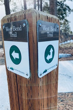 Urban bikers, rejoice! The West Bend Trail offers plenty of - off-road, safe cycling. - DAVID SWORD
