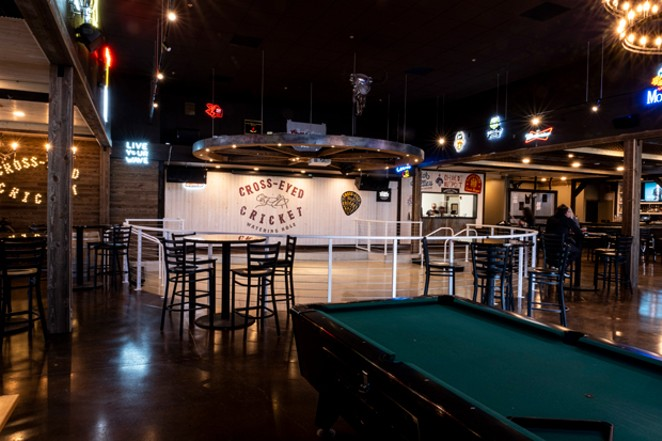 A new dance floor is the prime attraction for the new watering hole on Brinson Blvd. - COURTESY GARRETT WALES