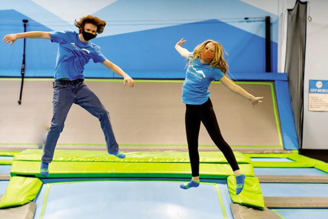 Mountain Air Trampoline Park. - NATALIE STEPHENSON