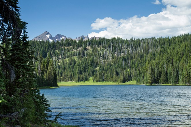 Todd Lake with Broken Top in background. - BONNIE MORELAND / FLICKR