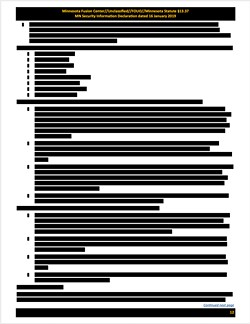 So top secret that even the bullet points were redacted. - EFF / MUCKROCK NEWS