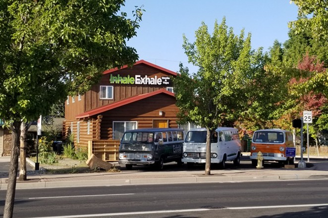 One of Redmond's smoke shops, Inhale Exhale Smoke & Vape, could become a dispensary if marijuana is legalized on the national level. - COURTESY MATTHEW ROCK